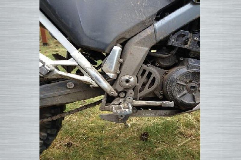 Afbeelding van Footpeg lowerers BMWG650XC