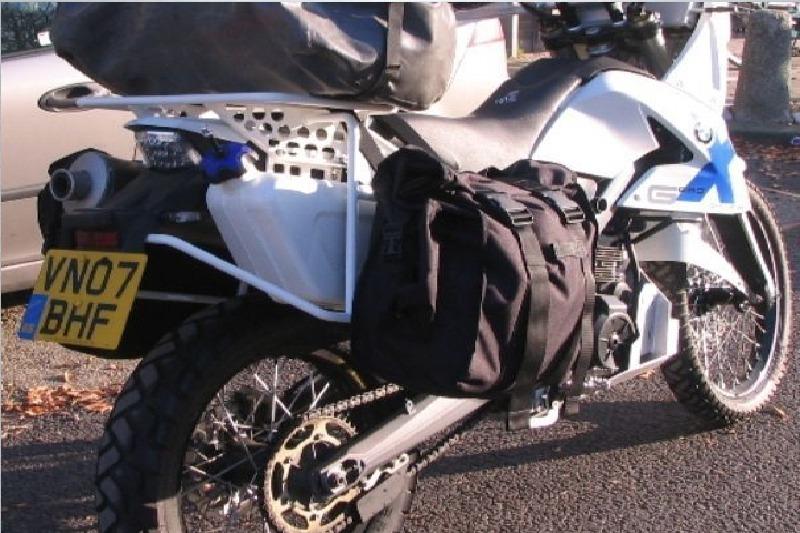 Afbeelding van XRack: Luggagerack for soft luggage